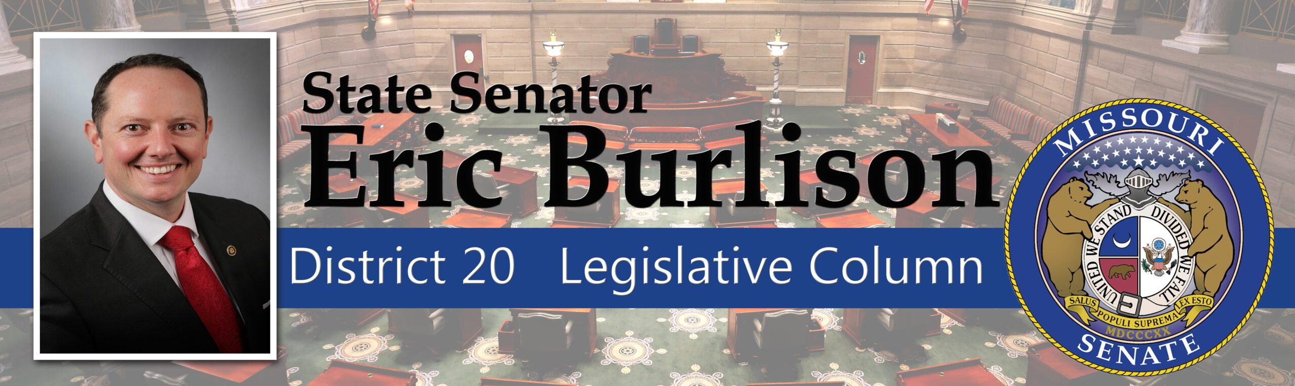 Sen. Eric Burlison's Legislative Column for Nov. 20, 2020