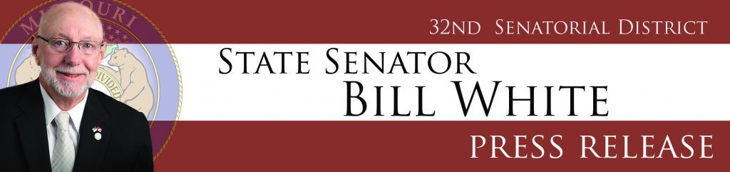 Senator Bill White Named Chair of the Senate Seniors, Families, Veterans and Military Affairs Committee