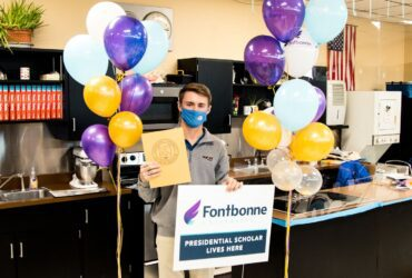 Two Students Earn Full Tuition to Fontbonne Through Presidential Scholarship