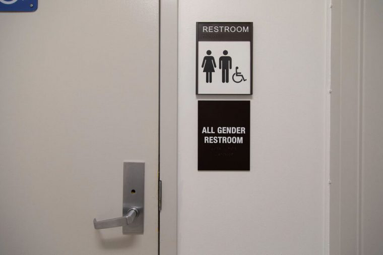 Free menstrual products available in restrooms for occasionaluse